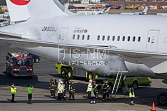 波音787锂电池着火